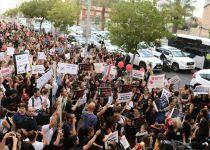 """אלפי מפגינים נגד התעללות בתינוקות: """"דורשים מהפכה"""""""