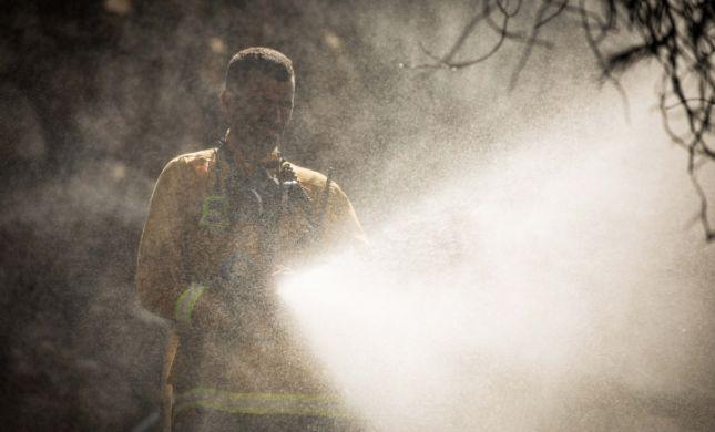 חום קיצוני וגל שריפות בכל הארץ- שריפה ענקית בחיפה