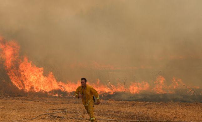 השריפות העיקריות: ואדי ערה, אדרת ושבי שומרון