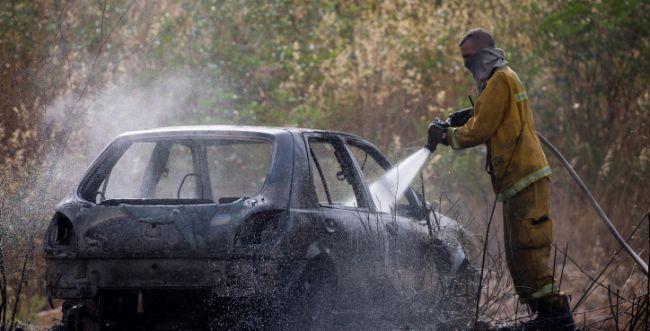 אירוע חריג בבנימין: חשד להצתת רכב על ידי נערים