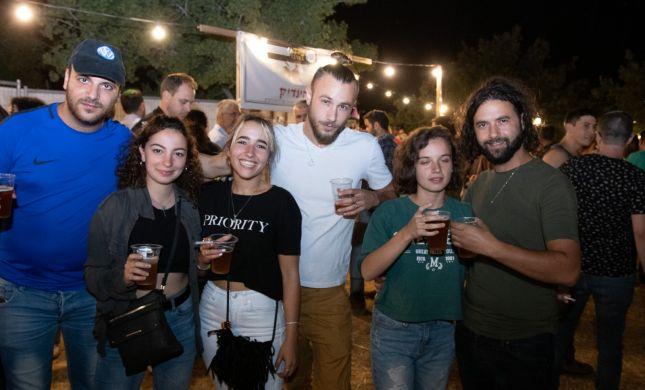 """""""בירה במדבר"""": אלפים חגגו את פסטיבל הבירה בתקוע"""