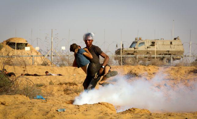 מחבלים ניסו לחדור לישראל, מטוס קרב וטנק ירו לעברם