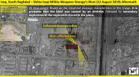 חדשות בעולם, מבזקים דיווח בעיראק: פיצוץ נשמע בבסיס של מיליציה איראנית