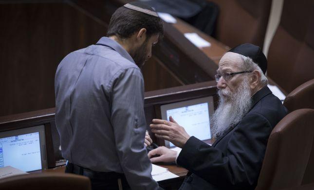 ליצמן ביקש לתאם עם סמוטריץ': בלוק חוסם בנושאי דת