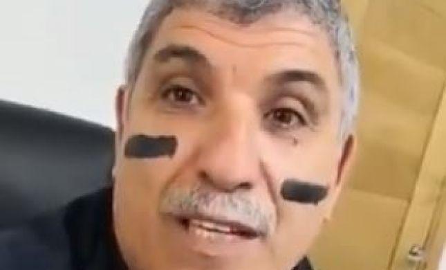 """ראש עיריית קריית מלאכי צבע את הפנים ופנה לרה""""מ"""