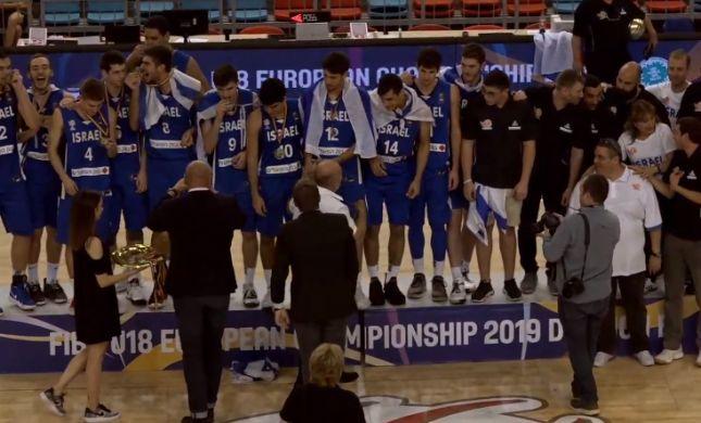הישג: ישראל זכתה באליפות אירופה לנוער דרג ב'
