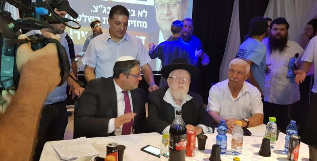 """בן גביר: """"הלכנו יד ביד עם פייגלין, עכשיו תצביעו עוצמה יהודית"""""""