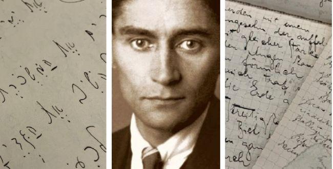 מאות כתבי יד של קפקא נחשפו, גם בעברית