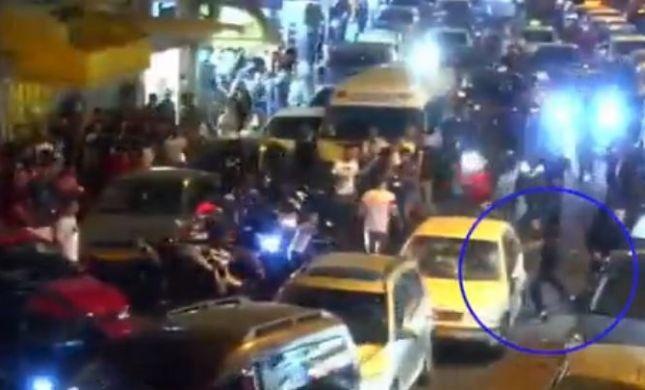 תיעוד מפחיד • צפו: ניסיון לינץ' בנהג יהודי במזרח י-ם