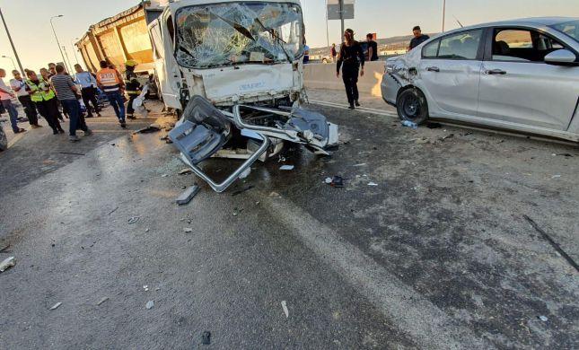 הרוג ו- 5 פצועים בתאונה קטלנית בדרום