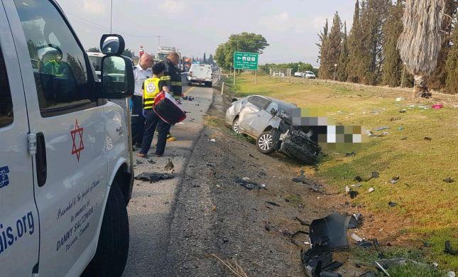 בוקר קשה בכבישים: הרוג בתאונת דרכים בכביש 90