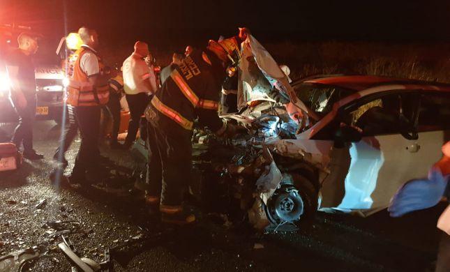 12 פצועים בתאונת דרכים קשה בצפון