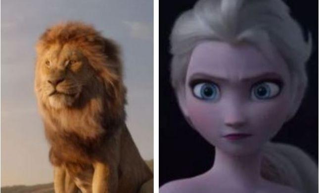 """שבר את הקרח: """"מלך האריות"""" ניצח את אלזה"""