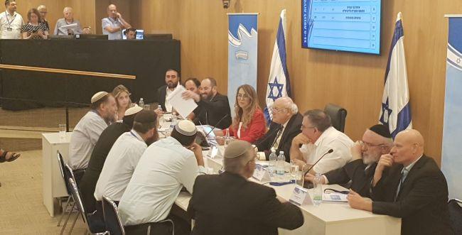 סופית: עוצמה יהודית הגישה בנפרד את הרשימה