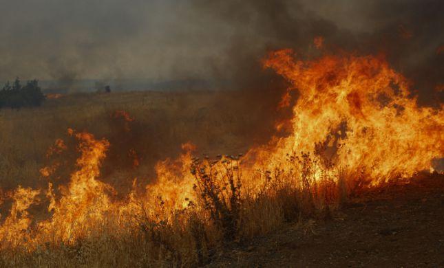 לא רק בדרום: חיזבאללה החלו בטרור הצתות בצפון