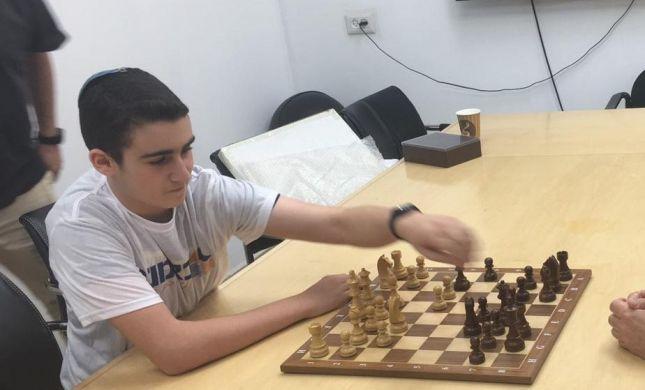 אלוף הארץ הסרוג בשחמט לא מוותר על השבת | ראיון