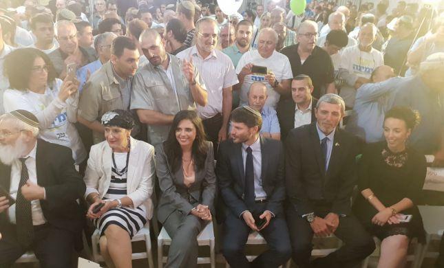 """שקד: """"יחד נשמור על ישראל נגד ברית לפיד וליברמן"""""""