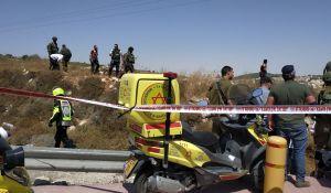 חדשות, חדשות צבא ובטחון, מבזקים פיגוע דריסה בכניסה ליישוב אלעזר, 2 פצועים במקום