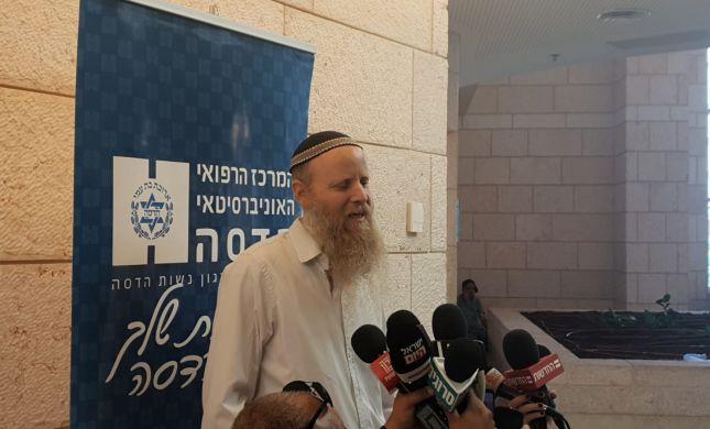 """הרב שנרב ביציאה מביה""""ח: """"אין כמו עם ישראל"""""""