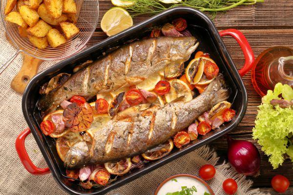 סורגים שבת: מתכון לדגים בתנור תוך 20 דקות