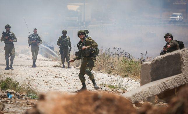 """לוחם צה""""ל נפצע קל בעימותים בבית לחם"""