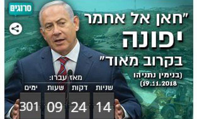 """300 יום מאז ההבטחה לפינוי """"בקרוב"""" של חאן אל אחמר"""