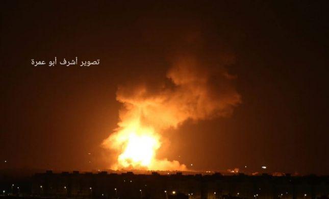 מטוסי קרב תקפו מנהרת טרור ויעדים צבאיים בעזה