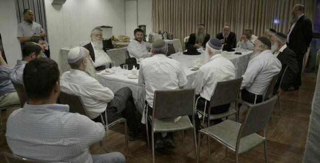 """הרבנים החרד""""לים התכנסו, והכריזו על תמיכה ב'ימינה'"""