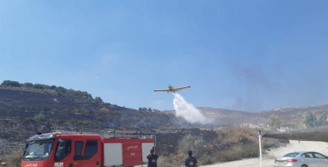 הושגה שליטה על השריפה שפרצה בהר ברכה