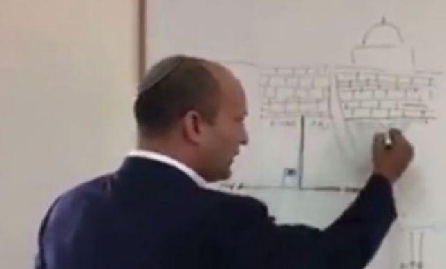 סרטון חדש: עוצמה הולכת על הראש של בנט. צפו