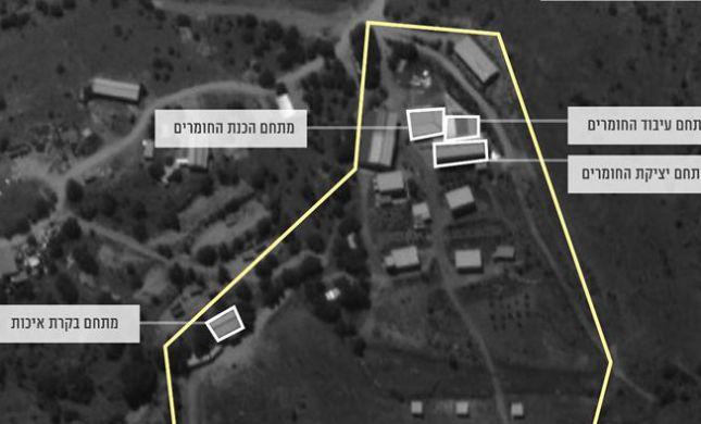"""צה""""ל חושף: חיזבאללה פינה מתקן טילים מחשש לתקיפה"""