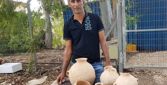 תושב הגליל מצא כלי חרס המתוארכים לימי נח