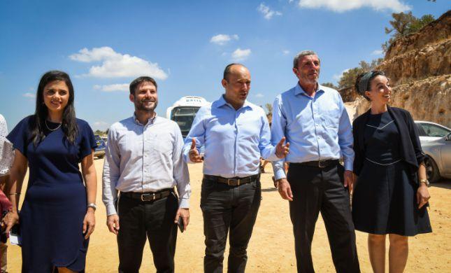 'ימינה': ספין פוליטי; נתניהו הזמין את גנץ לממשלה