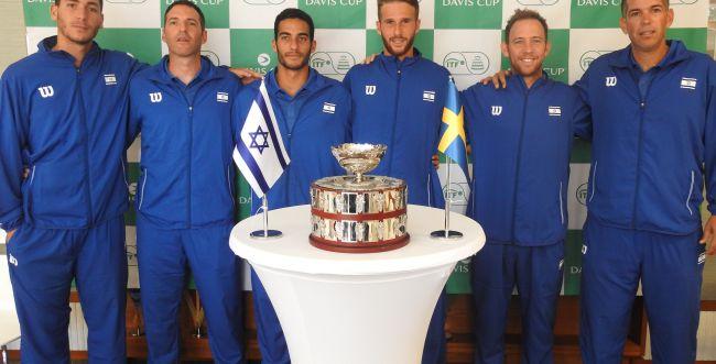 הגרלת גביע דייויס מול שבדיה: לשם יפתח מול יימר