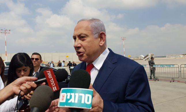 """נתניהו: """"בסקרים שלנו עוצמה יהודית עוברת"""""""