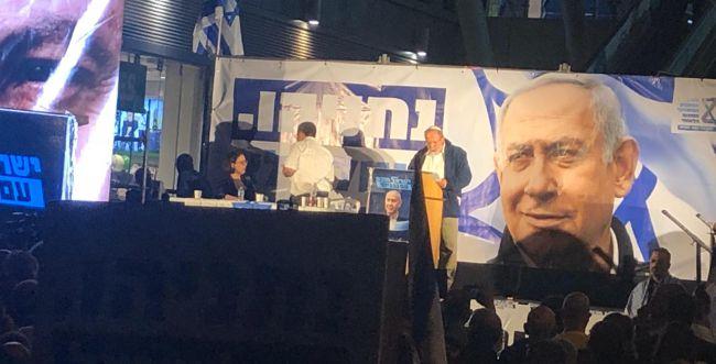 """הרב אלי סדן בהפגנת הימין: """"יש כאן רדיפה פוליטית"""""""