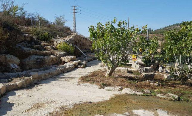 """הגן הלאומי עין חניה בירושלים יפתח בחוה""""מ סוכות"""