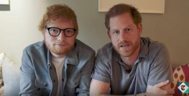 צפו: כוכב הפופ והנסיך הארי באיחוד מפתיע