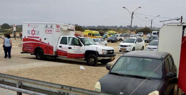 מכת הברק: חמישה נפגעים, בן 20 במצב אנוש