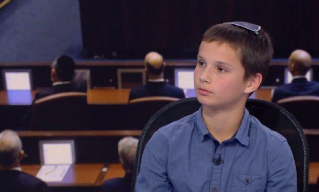 צפו: עמית סגל הדור הבא • מומחה לפוליטיקה בן 14