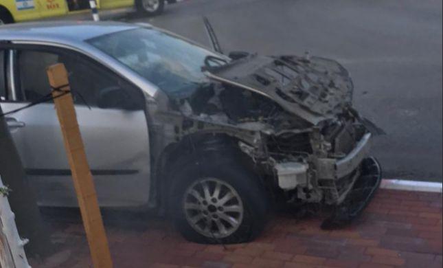 חשד לנסיון חיסול: פצוע קשה בפיצוץ רכב בנשר