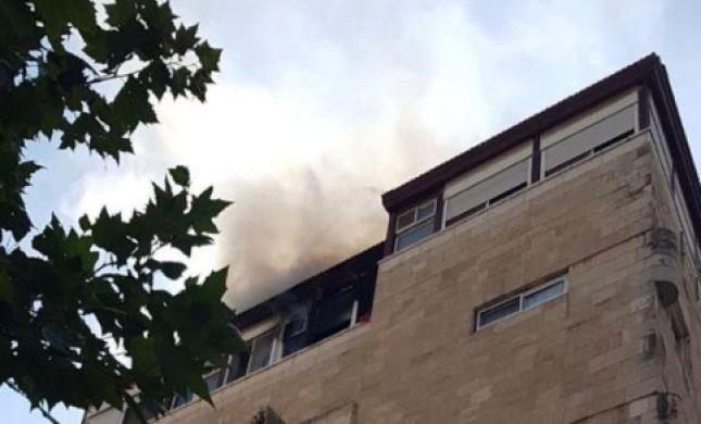 השריפה בי-ם: גבר נפצע אנושות, 3 פצועים קל