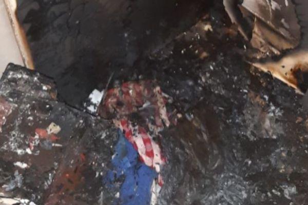 אישה נספתה בשריפה בדירתה; המשטרה פתחה בחקירה