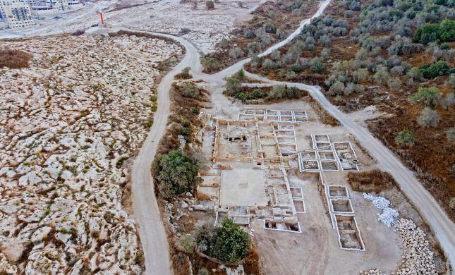 כנסייה בת 1,500 שנה נחשפה ברמת בית שמש