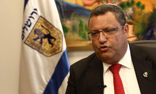 ראש העיר ירושלים משה ליאון מסכם שנה בסרוגים