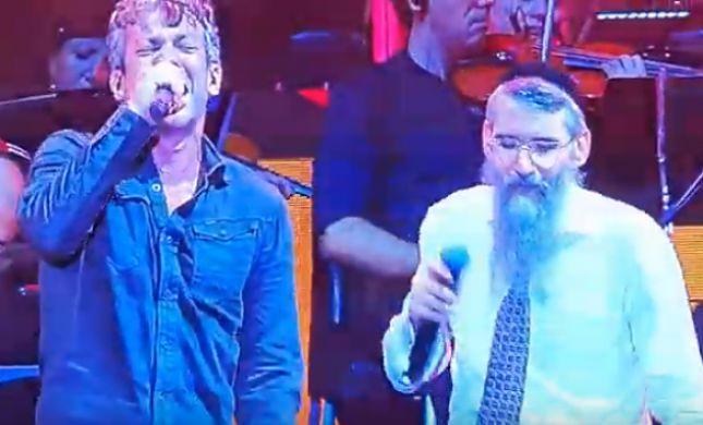 """""""יש לי חבר חדש"""": אברהם פריד ומוקי בדואט מרגש"""