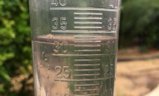 הערבה: ביום אחד ירדה כמות גשם שיורדת בשנה