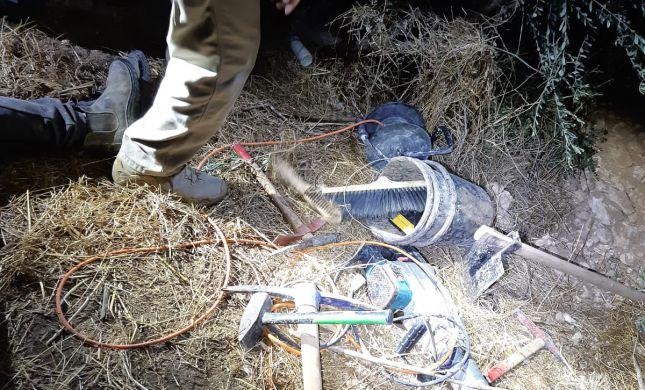 נעצרו 6 חשודים בגניבת עתיקות מאתרים בשומרון