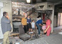 השריפה כילתה הכל: המשפחה קמה מן האפר