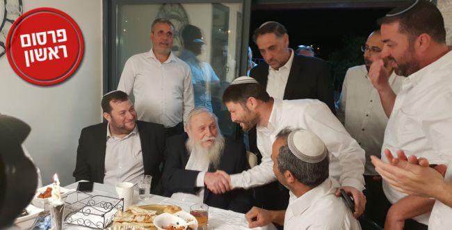 לקדם את המיזוג: סמוטריץ' נפגש עם הרב דרוקמן